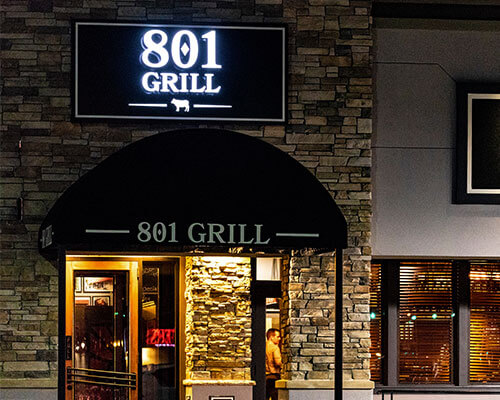 801 grill exterior