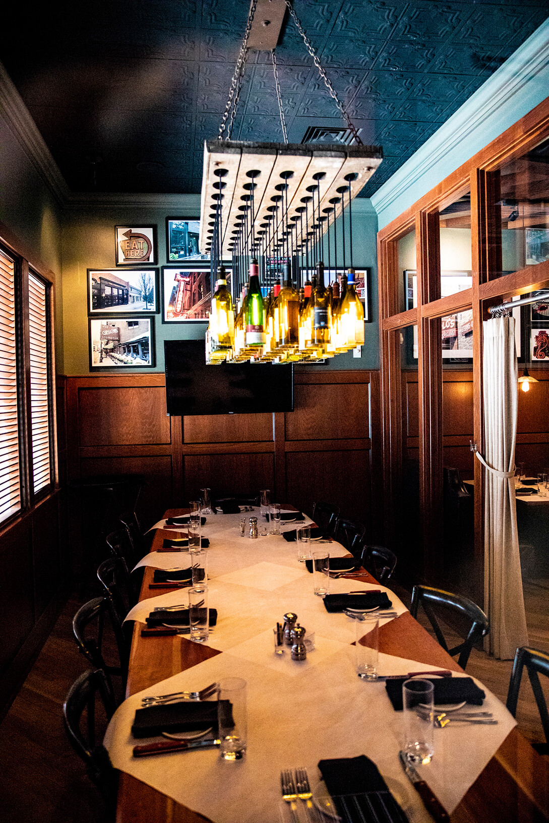 Private dining room at 801 Grill